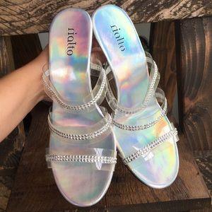 Iridescent Y2K Heels